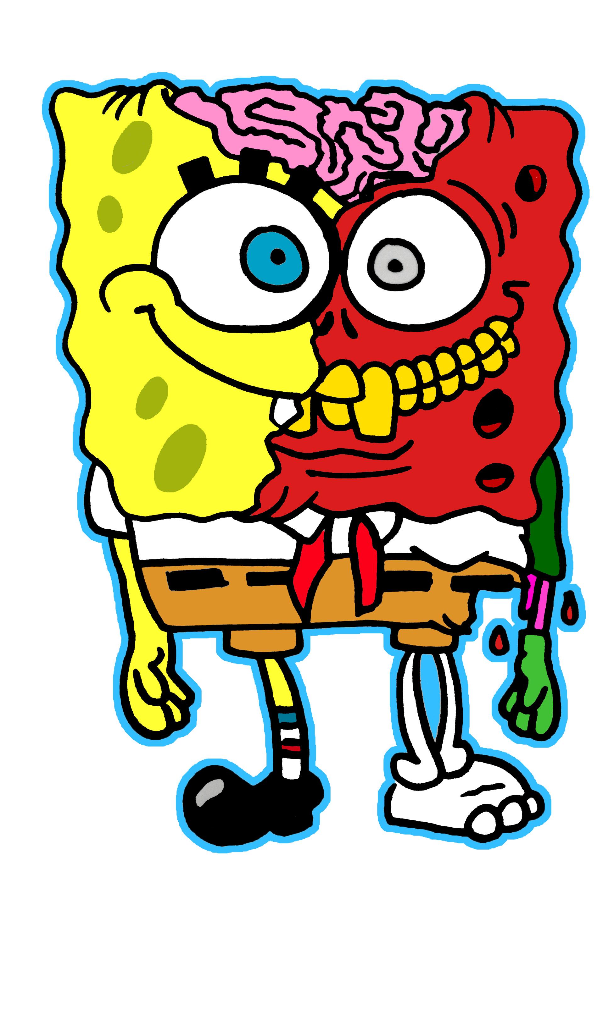 Keren 30 Gambar Grafiti Kartun Spongebob Gambar Kartun Ku